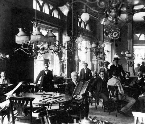 Cum erau cafenele din Cluj in secolul al XIX-lea…