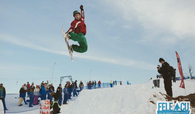 Stiai ca Clujul are partie de ski? Hai la Feleacu Winter Games – Concurs Sanii din Carton, Concurs Freestyle de Ski si Snowboard, Party pe Partie