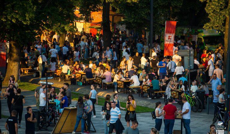 VIDEO| Cum arată meniul de distracție și mâncare la Street Food Festival
