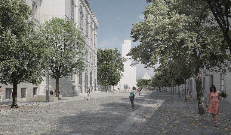 A fost desemnat câștigătorul concursului de amenajare a străzii Kogălniceanu