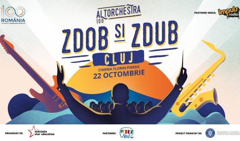 Zdob și Zdub concertează la Cluj-Napoca alături de o orchestră simfonică