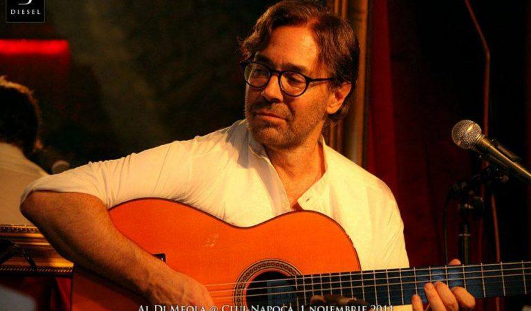 Al Di Meola revine în Cluj-Napoca  într-un concert extraordinar de lansare al noului său album – Opus
