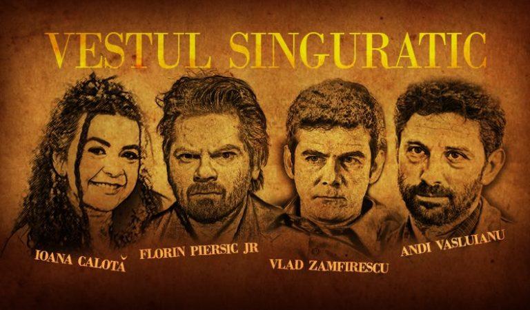 Ioana Calotă, Andi Vasluianu, Vlad Zamfirescu și Florin Piersic Jr. aduc Vestul singuratic în Cluj