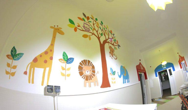 Secția de Chirurgie și Ortopedie Pediatrică din cadrul Spitalului Județean de Urgență pentru Copii a fost reabilitată și modernizată cu 31.000 de euro, bani strânși de Clubul Lions Hope Cluj-Napoca