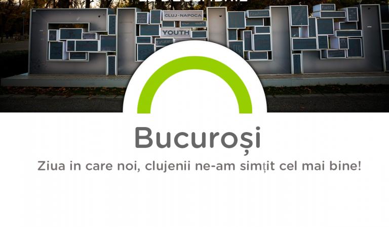 """Campania """"Cluj, cum te simti?"""" ne dezvaluie cum ne-am simtit in decembrie. Afla cand si unde ne-am simtit """"Tare bine""""."""