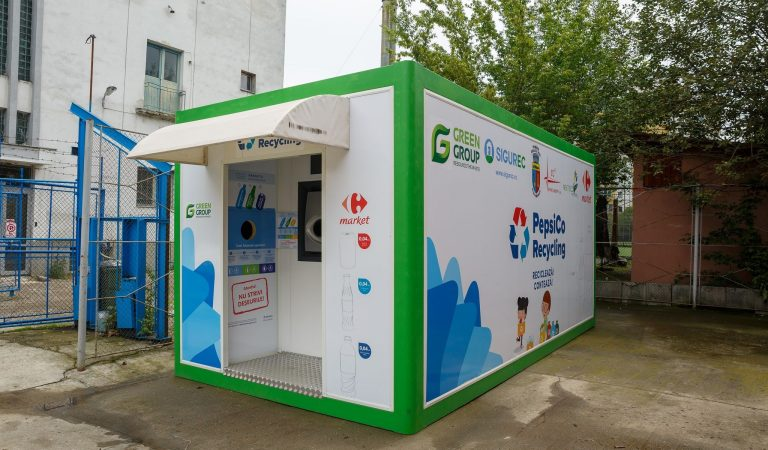 Stații de colectare selectivă cu recompensă la Cluj Napoca