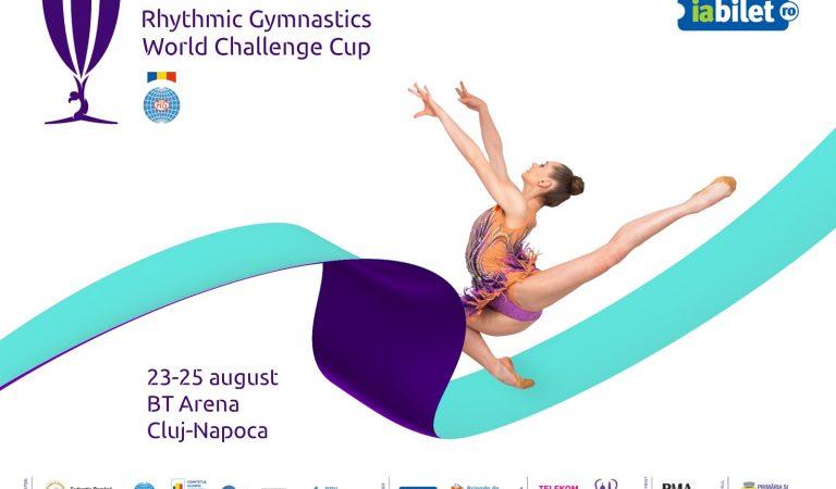 Cele mai bune gimnaste ale lumii se întâlnesc la Cluj Napoca în cadrul primei competiției internaționale de gimnastică ritmică de tipul World Challenge Cup organizate de România.