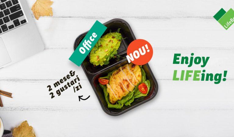 LifeBox lansează meniul Office, pentru cei ocupați, dar conștienți de importanța unui stil de viață sănătos
